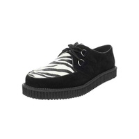 Creeper-600 Zebra Platform Shoes