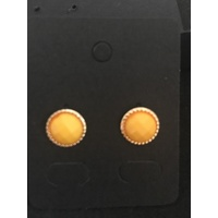 Gold Trim Studs in Yellow