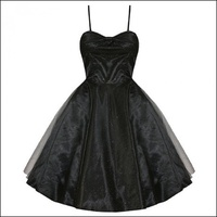 Roxanne Dress in Black Sparkle
