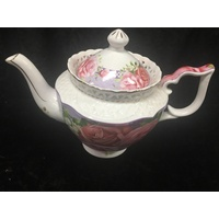Pink Rose - Large Tea Pot